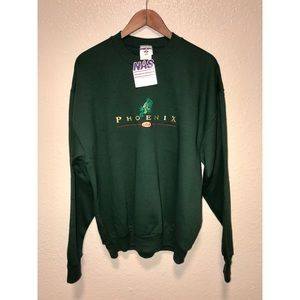 Phoenix USA Lizard Embroidered Sweater